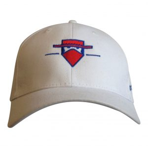 White Classic Cotton Baseball Cap