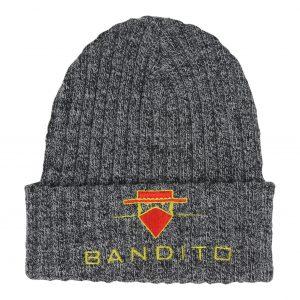 Bandito Ribbed Beanie Full logo